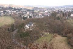 Blick über Bleidenstadt und Hahn